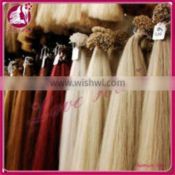 Factory delivery u tip hair,high quality nail tip hair extension nail tip hair extensions