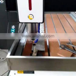 Mini 2.2kw Spindle Motot Desktop 4 Axis Cnc Routers 6090 For Sale