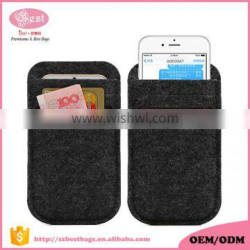 cheap and hot sell felt mobile phone case custom mobile phone covers