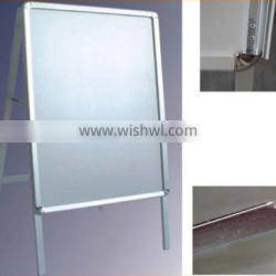 Outdoor customized poster board frame, sign board, aluminum A frame sign
