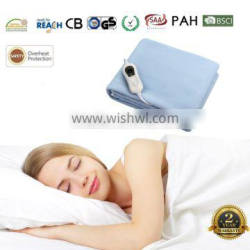 Wholesale Supplier Washable Fleece Electric Blanket With Factory Price