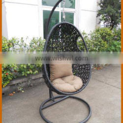 Rattan Hanging Chair With Aluminium Or Steel Frame