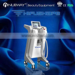 nubway newest non invasive liposonix vertical HIFUSHAPE fat reduction slimming for body contouring machine with factory price