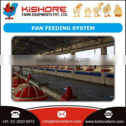 Certified Automatic Pan Poultry Feeding System for Broilers and Breeders