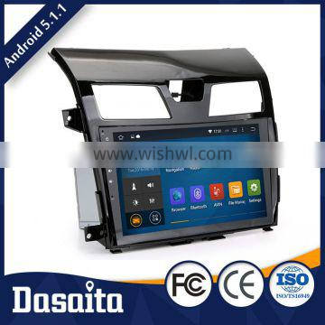 10.2 Inch Super Hardware Performance car radio dvd with gps mirror for nissan