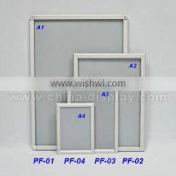 Hot Sale Exihibition Hanging Photo Picture Frame Wall-mounted Photo Picture Frame For Advertising