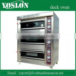CB-D306 Three deck electric deck oven