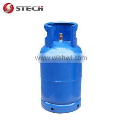 stech hot-selling 26.5l water capacity 12.5kg lpg cylinder with regular construction