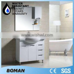 2015 design floor standing water-resistant bathroom cabinet