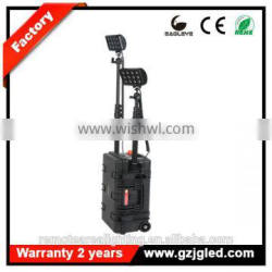 Guangzhou ip67 rechargeable Portable mobile led floodlight for military RLS512722-72w