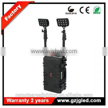 GUANGZHOU Model RLS-72W Tunnel Lighting led out door lighting heavy duty rechargeable searchlight