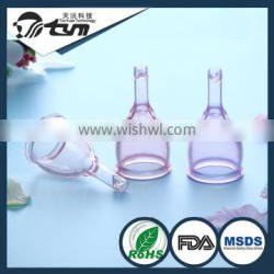 Wholesale Reusable Medical Grade Soft Silicone Women Period Cup