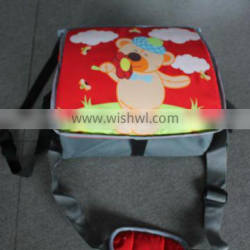 Standard crash test 6mths up to 18kg years old baby girl car booster seat bag