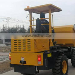 Small site dumper, FCY30, site dumper with ordinary tires