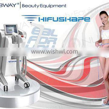 New advanced roller and vacuum body slimming beauty machine hifu high intensity focused ultrasound slimming machine with CE