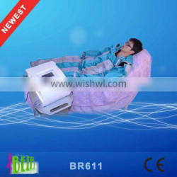 pressotherapy 4 in 1 therapy air pressotherapy lymphatic drainage machine / air compression leg massager