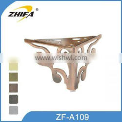 ZHIFA ZF-A109 new design furniture legs outlet couch legs couch legs replacement