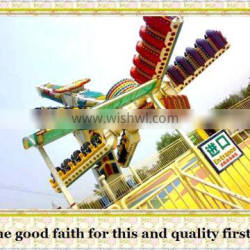 Direct manufacturer with 10 years history outdoor adventure playground equipment rides speed windmill