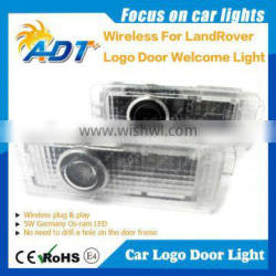 Car logo Door LED lamp, Welcome Projector Light For LAND Roer