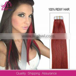 New Arrival tape skin weft hair extensions