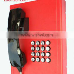 Intercom Bank telephone KNZD-27 Analogue system outdoor /indoor emergency telephone