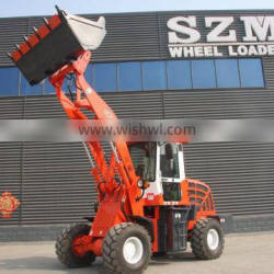 New construction machine heavy equipment zl20 2 ton wheel loader price with wood fork and grass fork