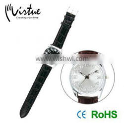Custom leather pair couple watches
