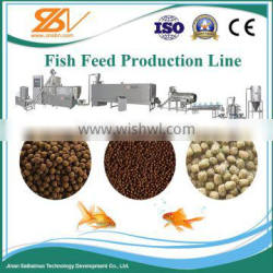 production machinery Sinking fish feed production line