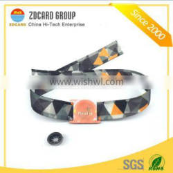 ISO 14443A Access Control Woven RFID Wristband