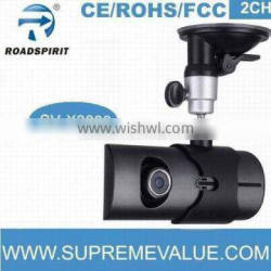 140 degree 5.0M pixels CMOS 2CH with GPS logger and G-sensor google map carcam