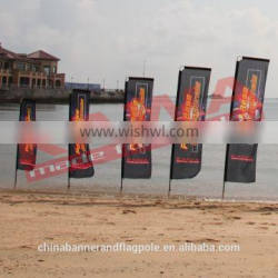Hot sale outdoor advertising custom feather flags