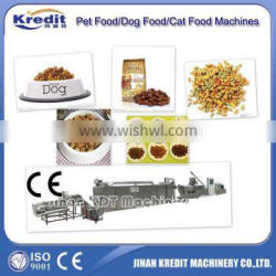 Dog feed pellet extrusion machine/processing line