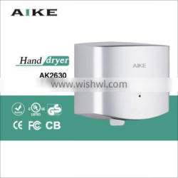 fast speed hand drying machine jet air automatic hand drier ABS hand dryer AK2630