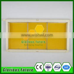 Best Price Bee Frame With 6PCS Honey Cassette Box&Beeswax Foundation Sheet