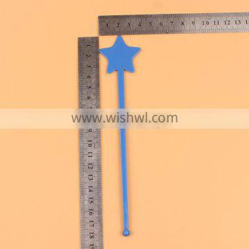 Five-Pointed Star Plastic Drink Stirrer In China