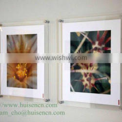 China supplier acrylic wall mounted photo frame for retial and wholesale