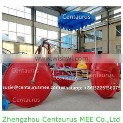 Antirust salt water use fiberglass water tricycle with fast delivery