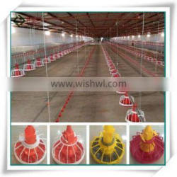 Environmental Control Poultry House Automatic Farm Machinery Equipment Broiler Feeding System For Breeding Chickens