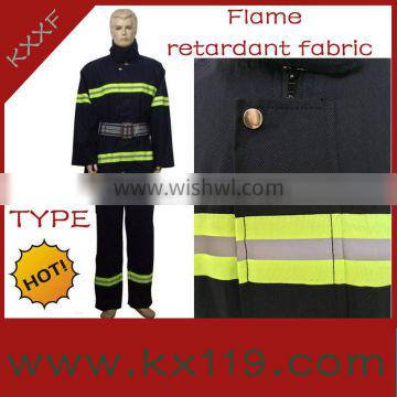 02 Type Dark Bule High Performance firefighter dress uniform