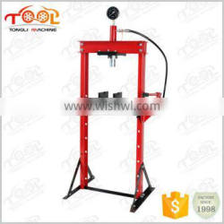 factory supply 10Ton Portable Shop Press With Gauge
