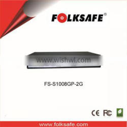 Complies with IEEE 802.3af / 802.3at Power over Ethernet End-Span PSE ,8 -Port Gigabit POE Switch