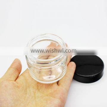 50ML Clear Cosmetic Glass Jars