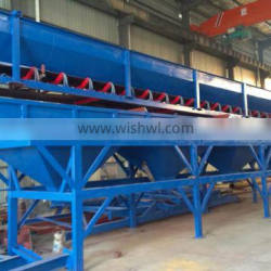 widely used aggregates dosing machine PL800 used in concrete mixing station for making good quality concrete