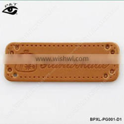 PU Leather Labels For Handmade Bags Crafts