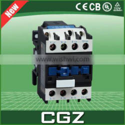 380v magnetic terminals and 4 pole ac contactor time delay 18A 80A