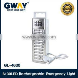 Rechargeable led emergency light with transformer charging,bright camping lantern