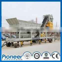 YHZS Series Mobile mixed high quality popular concrete batching plant