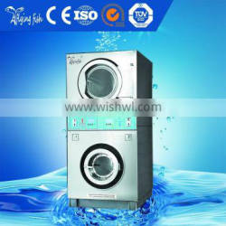 Professional Laundry stack washer and dryer machine made in china