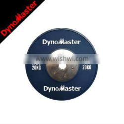 OEM weight lifting rubber barbell