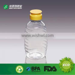 Manufacturers supplier from chnia honey jar packaging good quality pet honey bottle cheaper price squeeze honey bottle